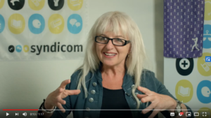 Violette Woche: Ingrid Kaufmann (Syndicom)